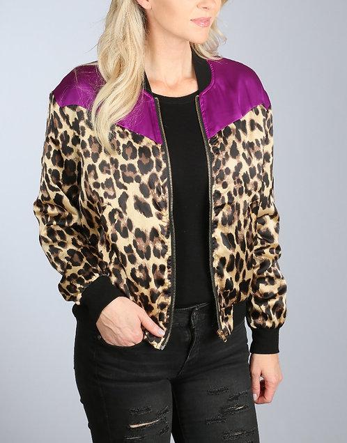 Leopard Contrast Jacket