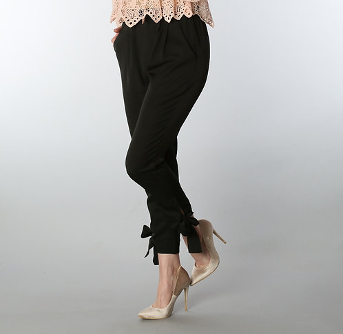 Bow Tie Ankle Pant