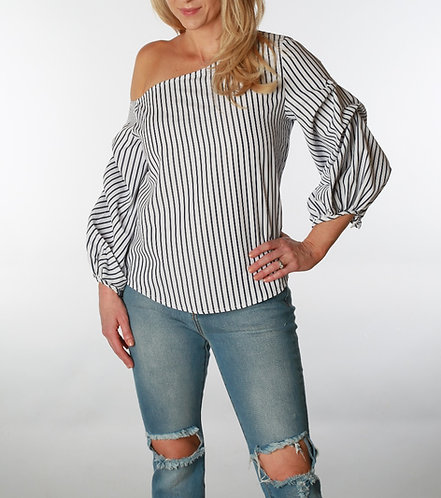 Chantal Off-the-Shoulder Blouse