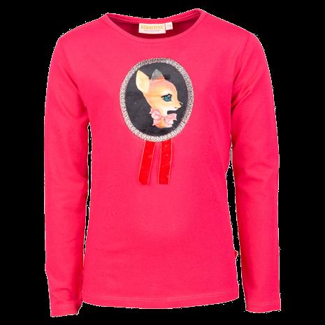 Langarm Shirt pink