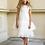 Thumbnail: Kleid beige-weiß (22/SM/20)