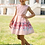 Thumbnail: Kleid rosa mit Rosen (15b/SM/20)