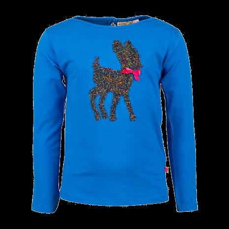 Langarm Shirt blau