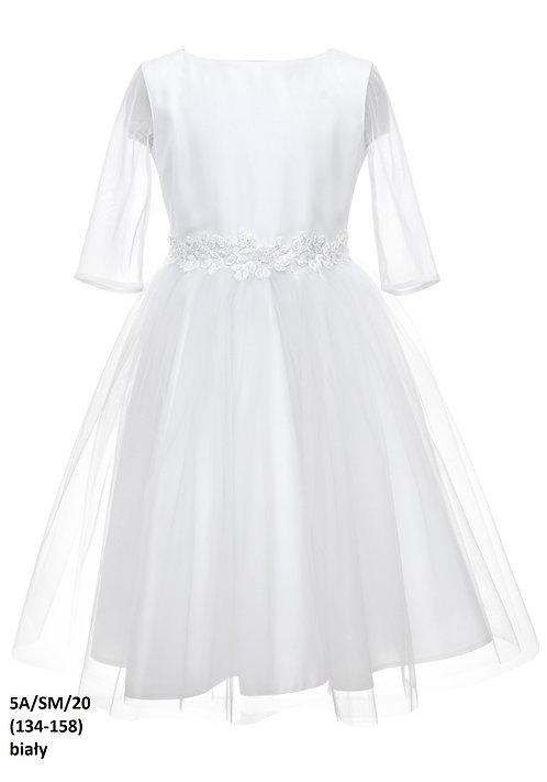 Kleid weiß Blumen (5a/SM/20)