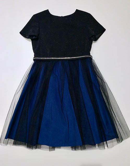 Kleid schwarz/nachtblau
