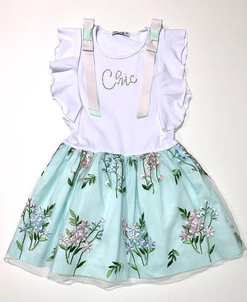 Kleid chic