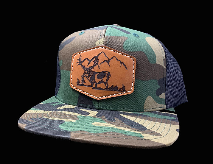StarBoy Leather Camo FlatBill
