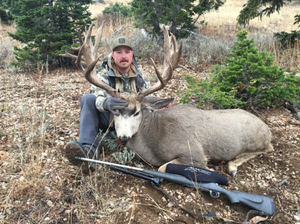 Pat Gibson took this hawg in Idaho measuring 216'
