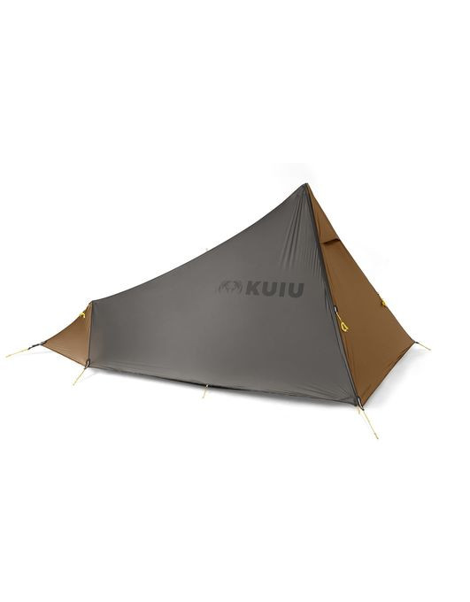 """The Summit Star 1P Tent is a versatile single-person backpacking shelter, ideal for the hunter who needs lightweight weather protection for mobile or early to mid-season conditions. Its large integrated vestibule provides protection for a pack, weapon, and boots, and can also be used as a cook area from within the main body. Adjustable vents at the peak and toe box ensure airflow to reduce condensation, and extensive guyline tie-outs ensure stability in windy conditions. An optional removable bug-proof mesh body (sold separately) makes this tent into a double-walled design. Save weight by pitching this shelter with a trekking pole and footprint (sold separately), or add the optional 51""""/130 cm Summit Star 1P Pole for a dedicated solution. Can be pitched with full mesh body and fly, just the fly and footprint, or fly-only for a truly minimalist approach."""