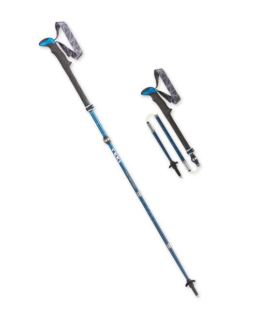 """LEKI's ultralite, super compact, yet FULLY functional answer to the growing popularity in """"folding"""" poles. These trekking poles will be your constant companion and one of your most useful tools on the trail and peaks."""
