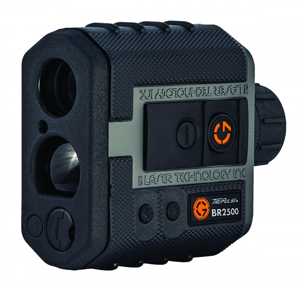 """The NEW FOR 2017 G7 BR2500 Ballistic Rangefinder features improved ranging, pushing the effective range of the BR2500 to 2,500 yards, approaching capabilities previously only available in military equipment. The BR2500 is a complete ballistic solver for drop and wind with outputs available in MOA, MRAD and BDC or Shoot-To compensation.  Press one button and the G7 BR2500 measures range, pressure, temperature, and incline to calculate a drop and wind solution based on your programmed Ballistic Coefficient (G1 or G7), Muzzle Velocity, Sight Height and Zero Range. Use the MOA or MRAD outputs with any scope's adjustments to dial in the angular solution. In BDC mode, compatible with ballistic reticles and BDC turrets which are calibrated to a fixed temperature and altitude, the BR2 will calculate a corrected solution automatically adjusted for varying conditions - just dial your BDC turret to the displayed Shoot-To-Range. You will never need to swap out your turret again. This is the only ballistic rangefinder on the market capable of providing """"Shoot To"""" outputs compatible with custom BDC And yardage turrets.  The BR2500 Rangefinder carries an on-board ballistic solver for precise real-time drop and wind calculations out to 1400 yards. The BR2500 is accurate to the nearest 0.1 MOA! Using a device that only provides a preconfigured-table lookup solution in 1.0 MOA increments, without wind correction, is not an option for shooting at 1000 yards and beyond.  For tough ranging conditions in rain, snow, or bright sunlight, selectable targeting modes allow you to detect and display the distance for Nearest, Farthest or Strongest targets out to the maximum range of 2500 yards."""