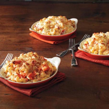 Ina Garten's Lobster Mac & Cheese
