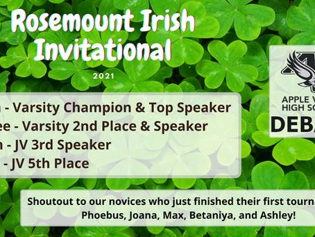 A Refreshing Rosemount Irish Invitation