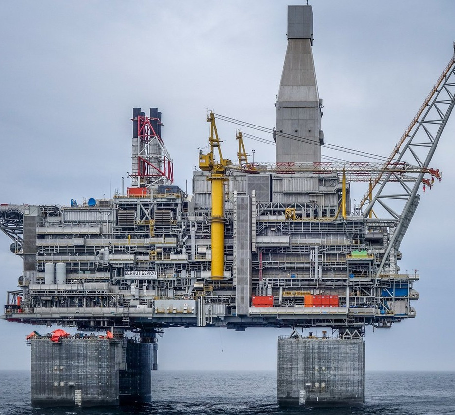 Sakhalin Oil Platform