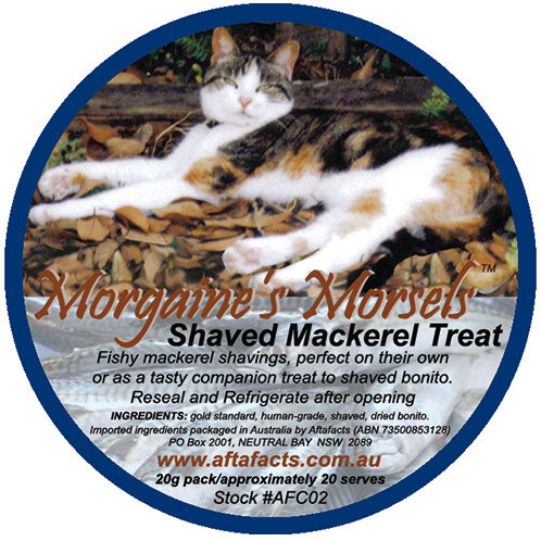 Shaved Mackerel Treat