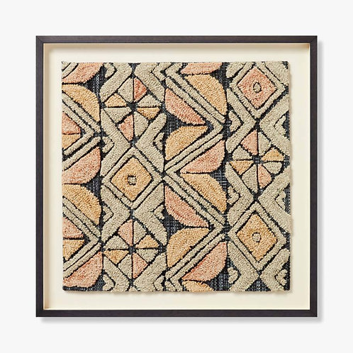 Bandu Framed Textile Artwork