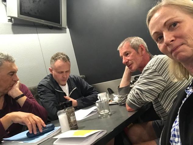Sydney mars 2020, manus under arbeid