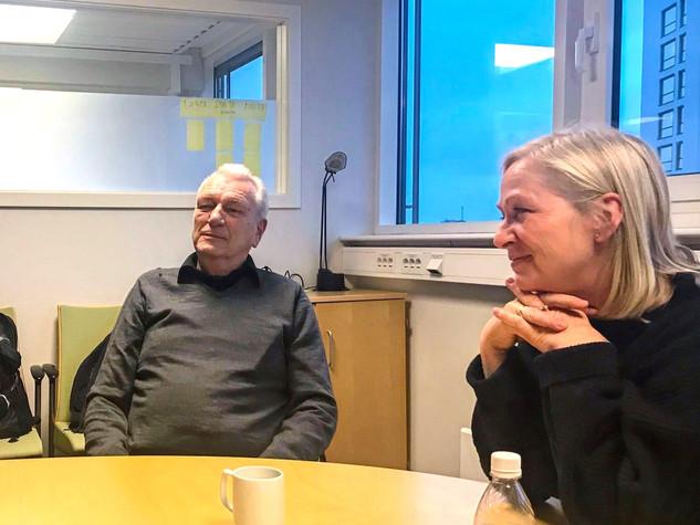 Møte med kaptein Arne Rinnan