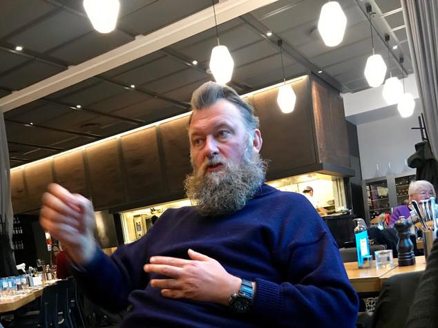Møte med overstyrmann Christian Maltau