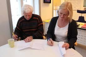 Signering av sponsoravtale med Norsk Tipping høsten 2012