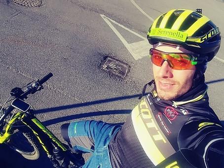Ma perché Ragnoli si allena sempre con la mountainbike? 🤔