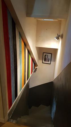 Habilliage escalier 1