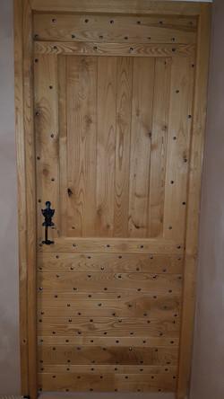 Porte interieure châtaigner