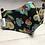 Thumbnail: Designer Mask Black floral Beadwork look print