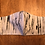 Thumbnail: Designer Mask Hand Painted Birch Tree