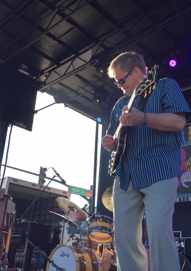 Dave Stryker on guitar