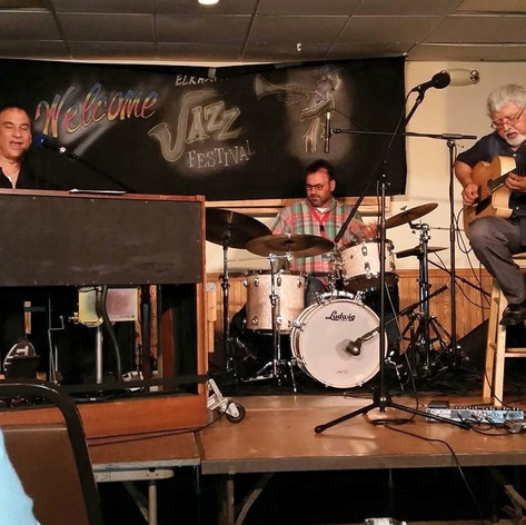 Tony Monaco, Fareed Haque and David Hilliker