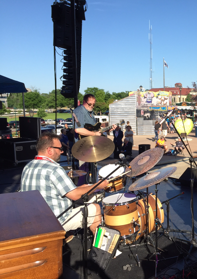 Main Stage at the Elkhart Jazz Festival