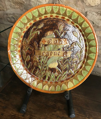 Flemish 18th Century Majolica Charger