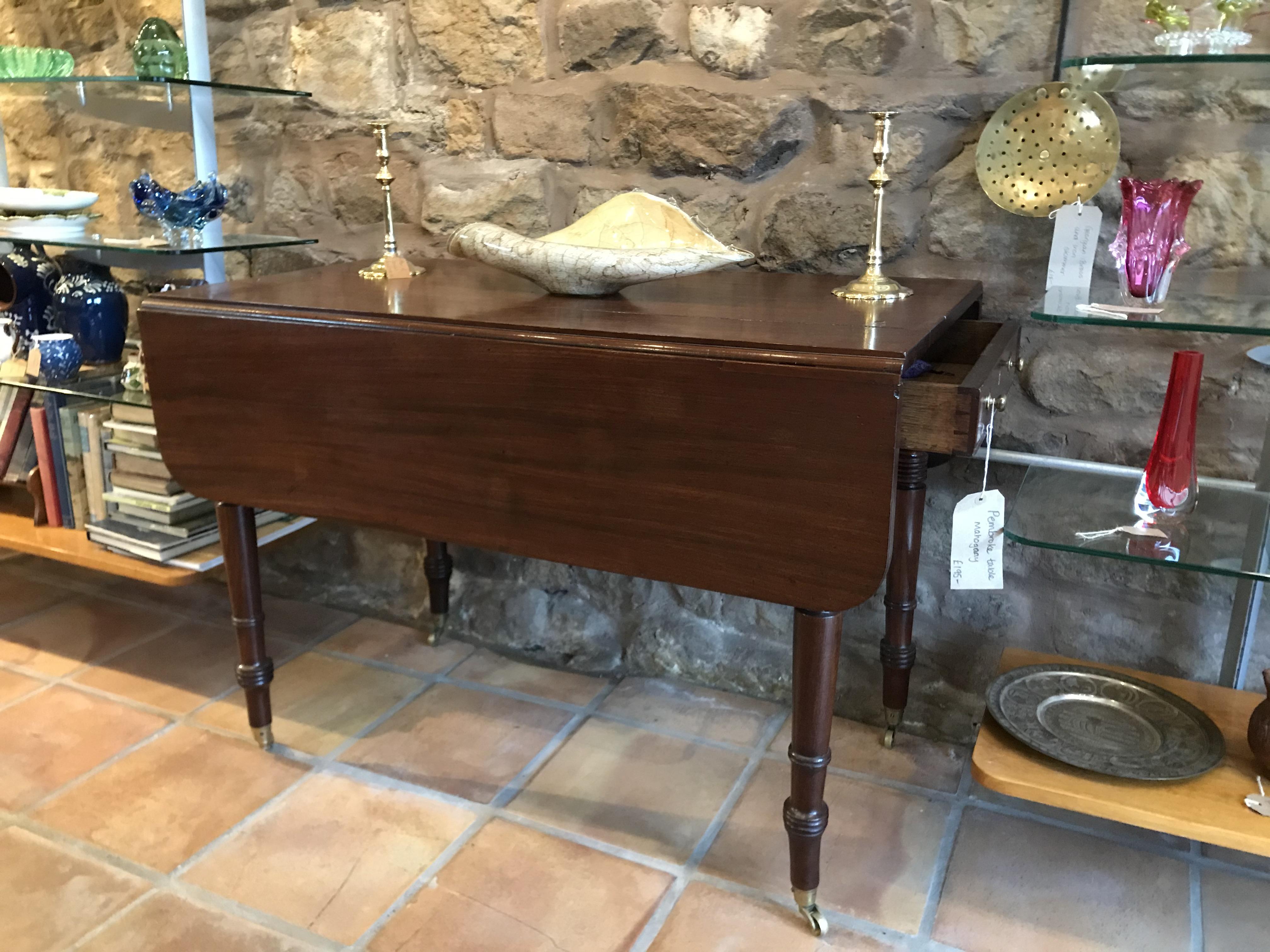 Pembroke Table, Mahogany