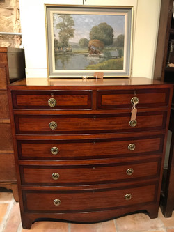 Regency Mahogany Chest