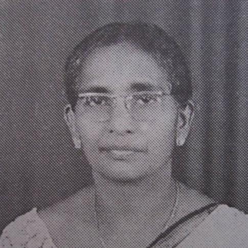 Mrs Cissy Jayasinghe