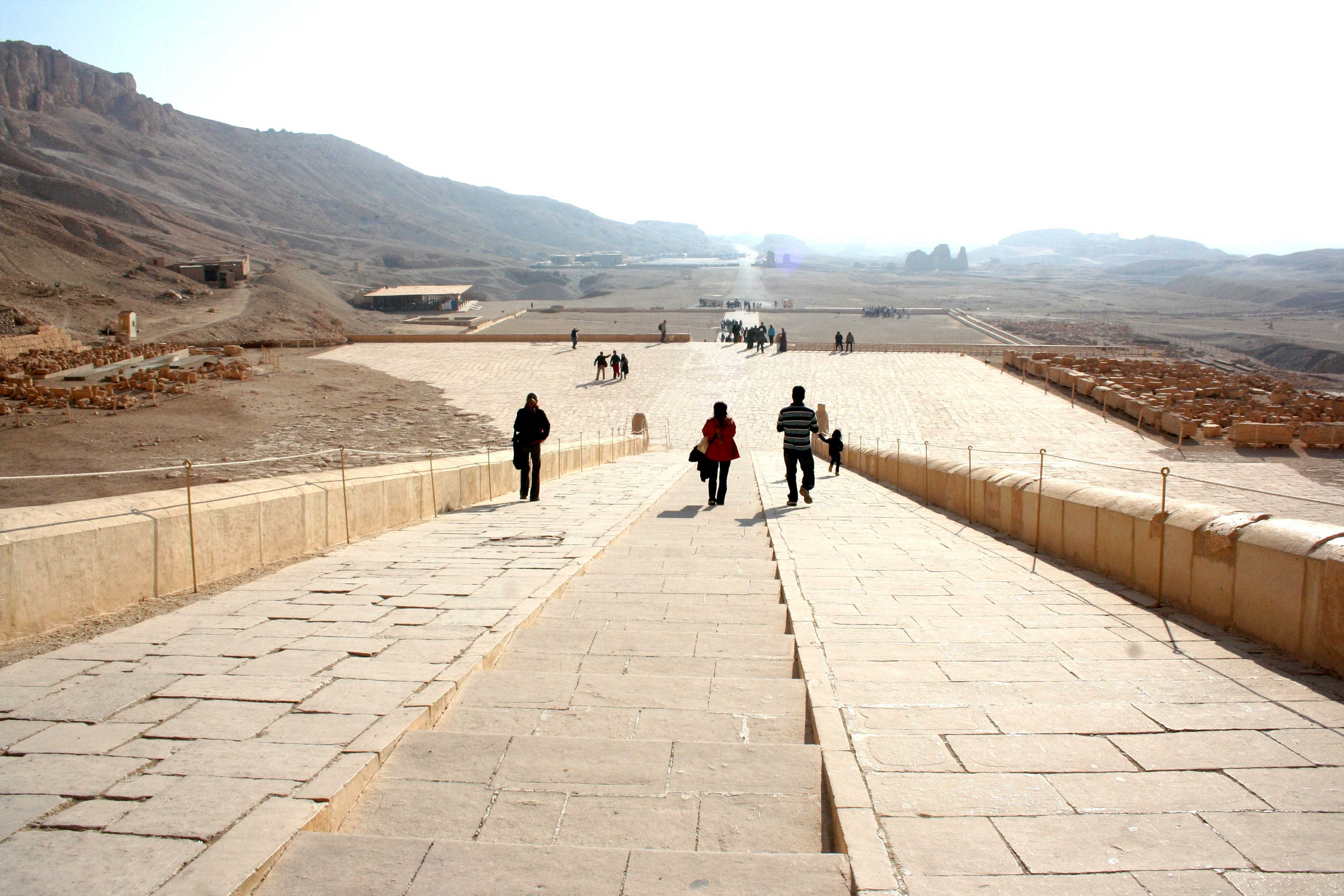 Looking Out from Hatshepsut Temple