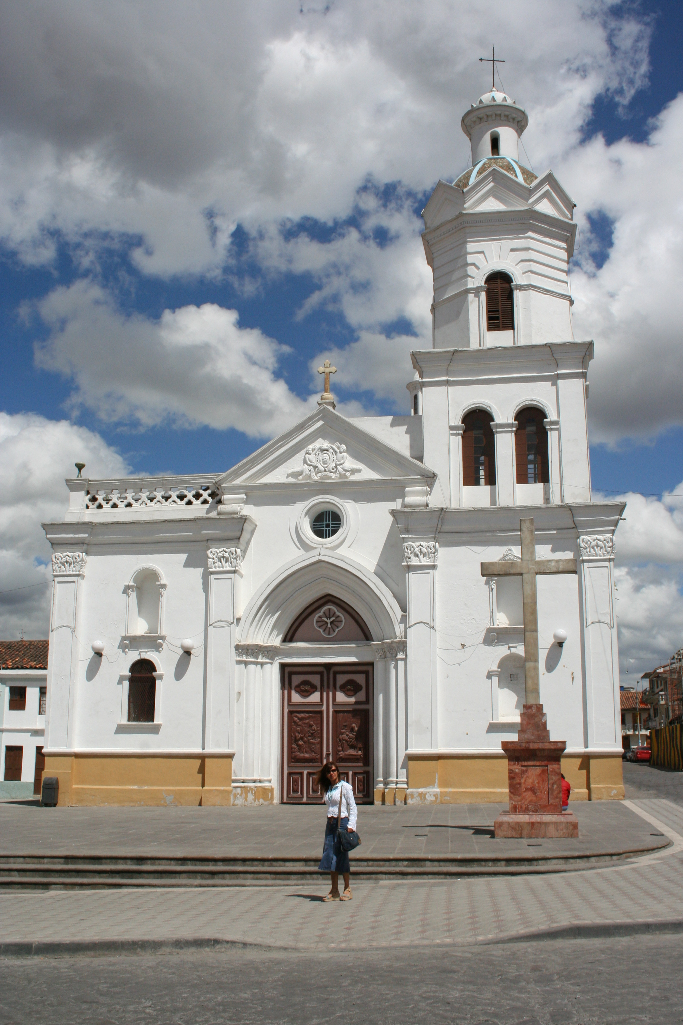 Church in Cuenca Ecuador