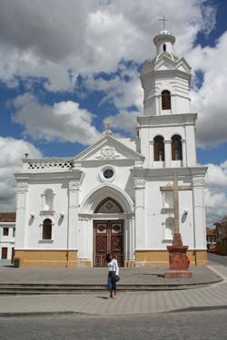 Church in Cuenca Ecuador