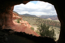 View from Shaman's Cave