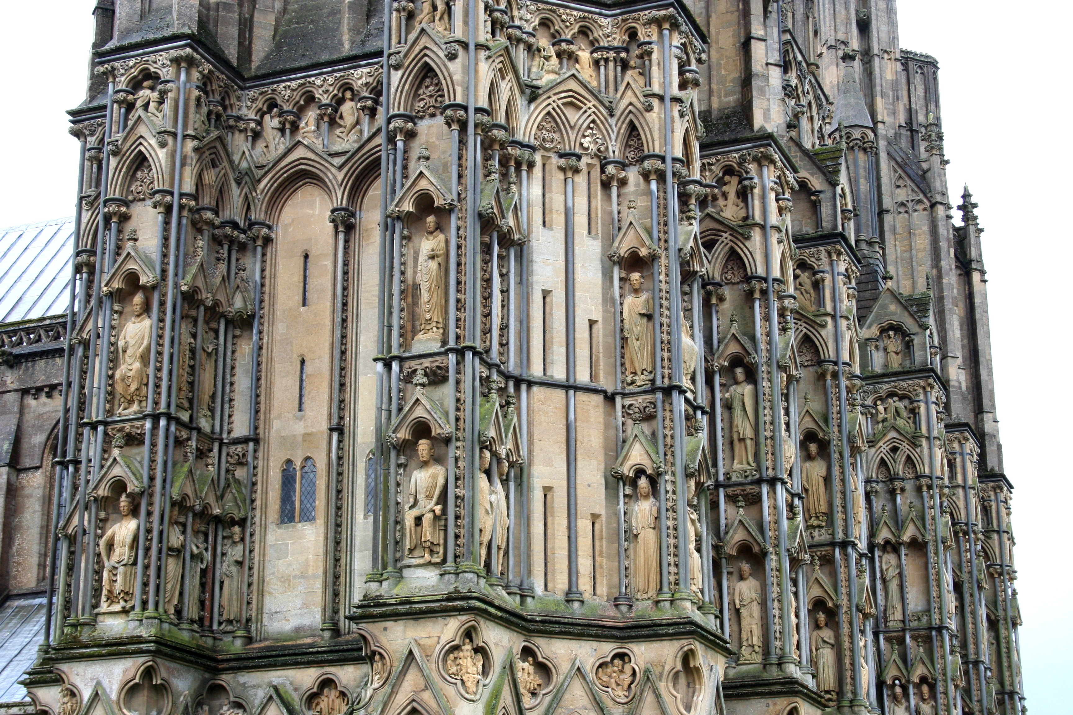 Wells Cathedral Facade