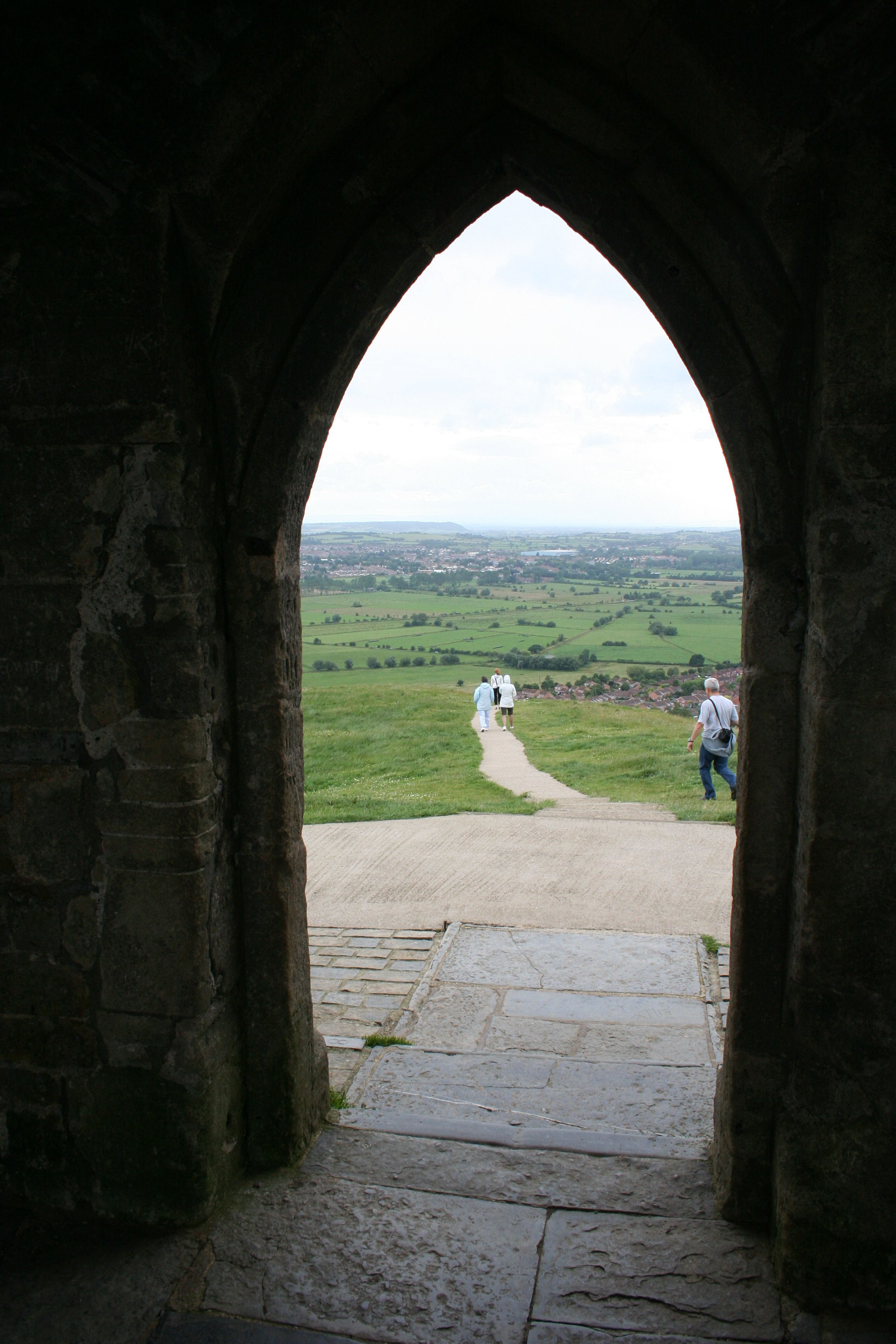 Glastonbury Tor Looking Out