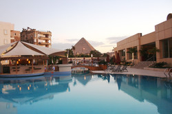 Great Pyramid from Hotel