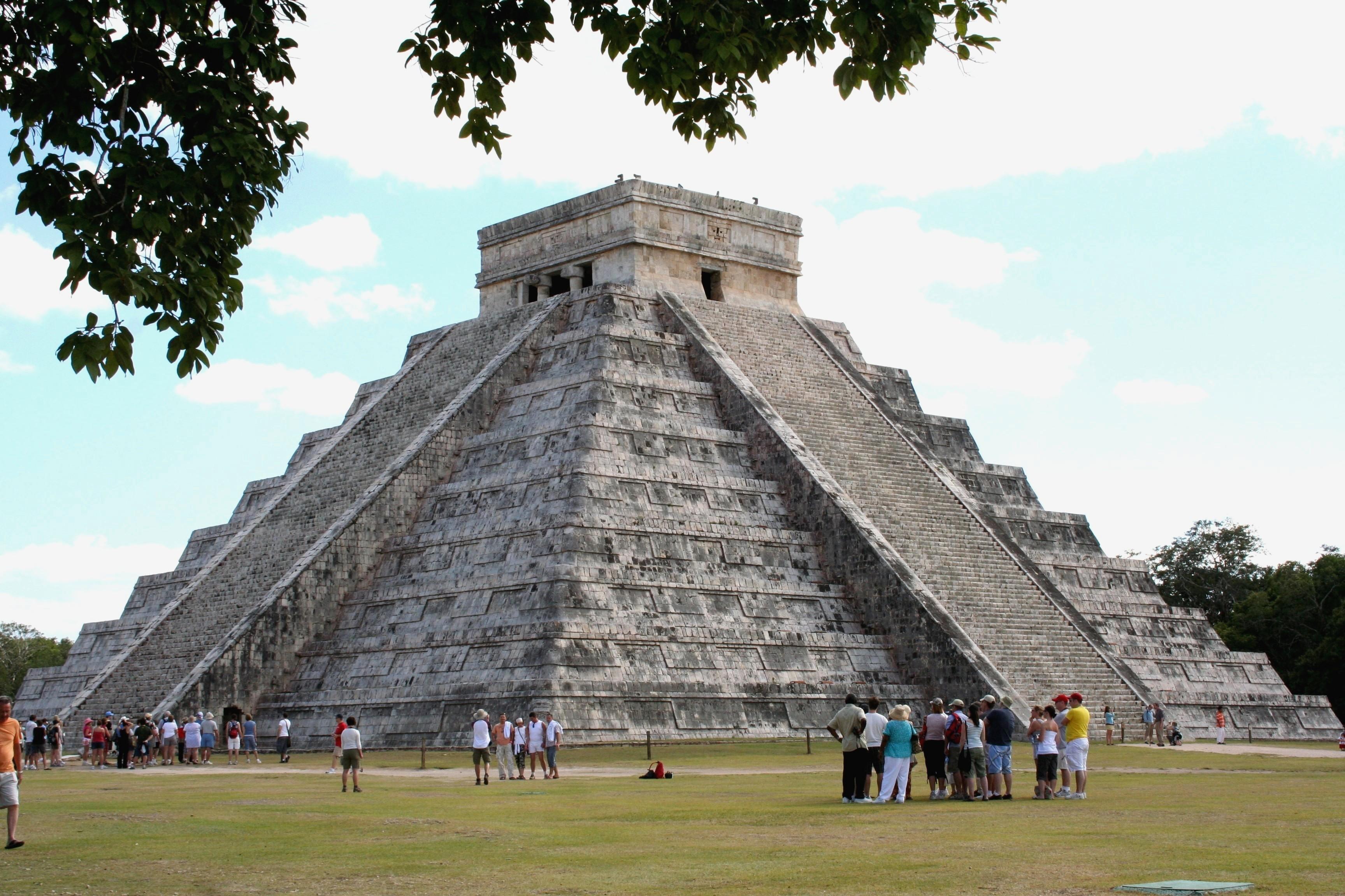 El Castillo Pyramid at Chichen Itza