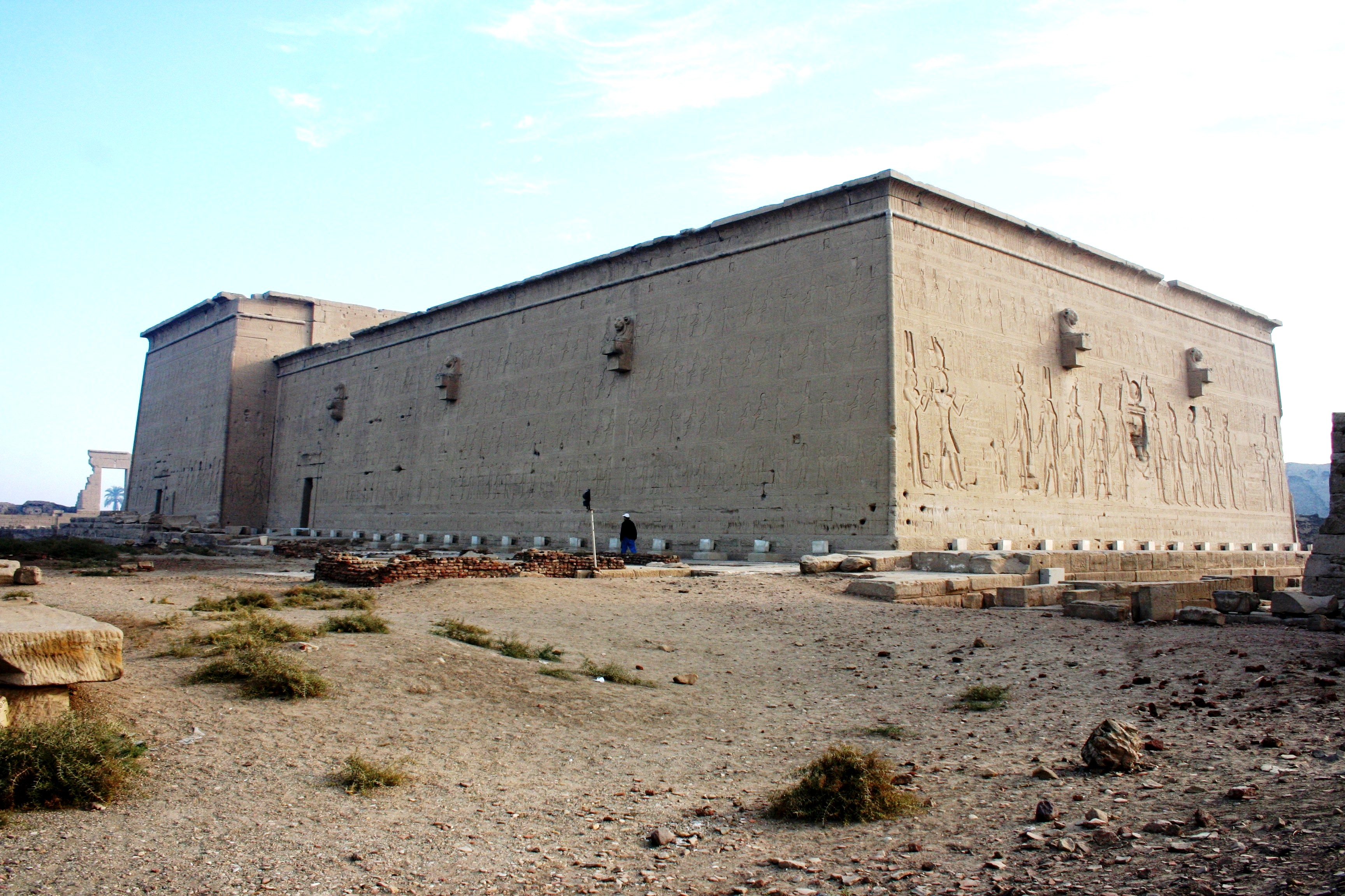 Back of Dendera Temple