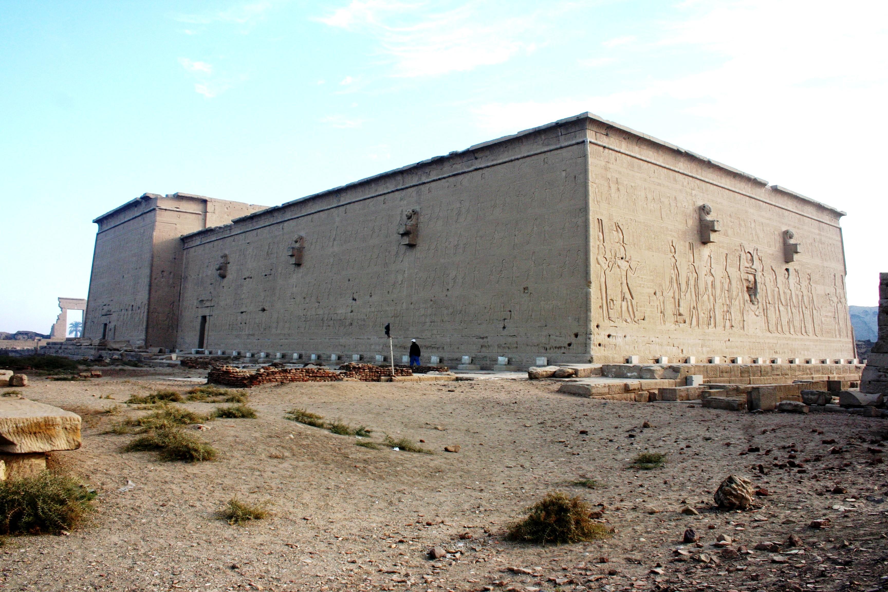 Back of Dendera Temple