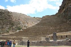 Ollyantaytambo Inca Fortress