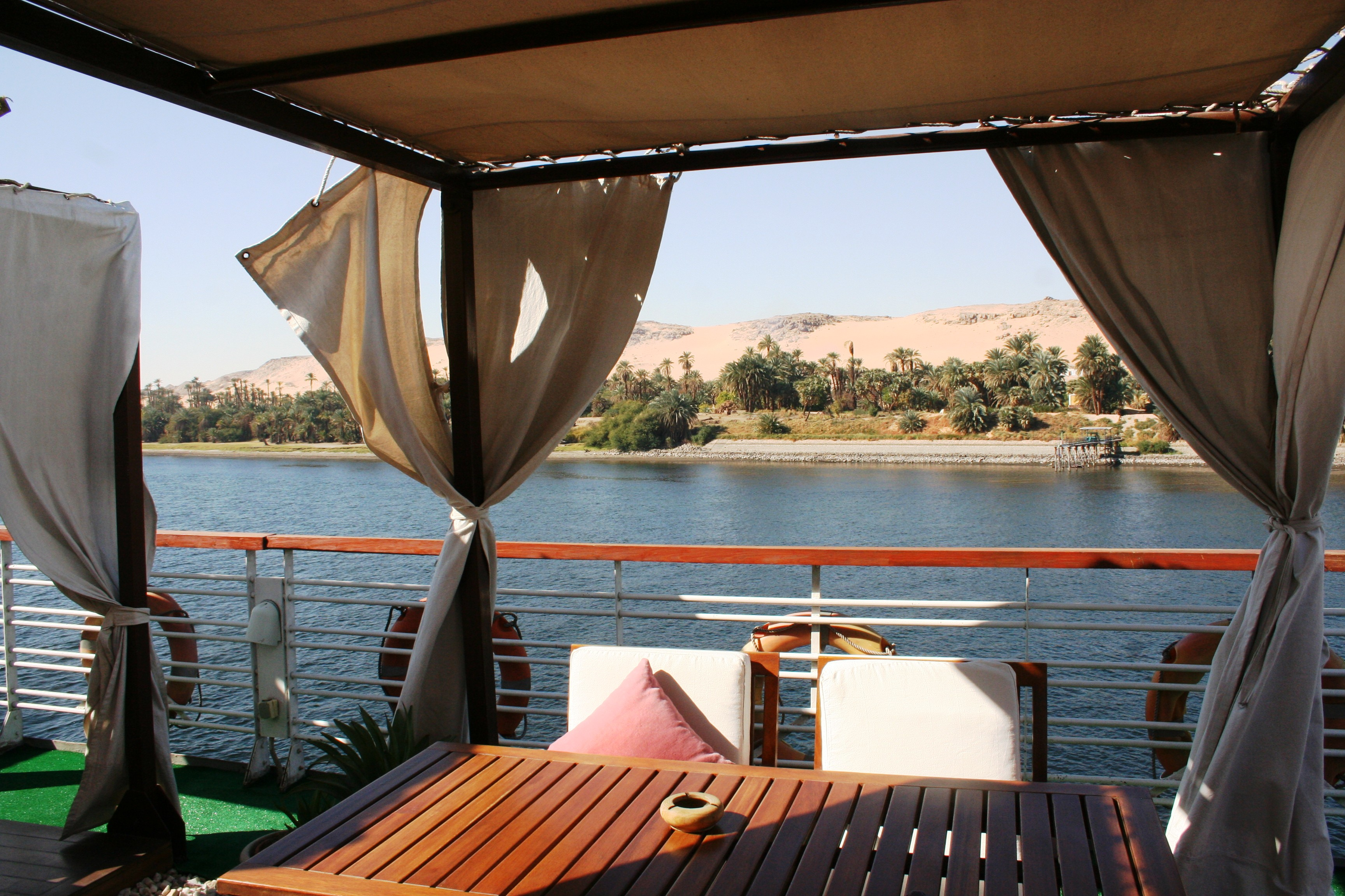 Cruising the Nile