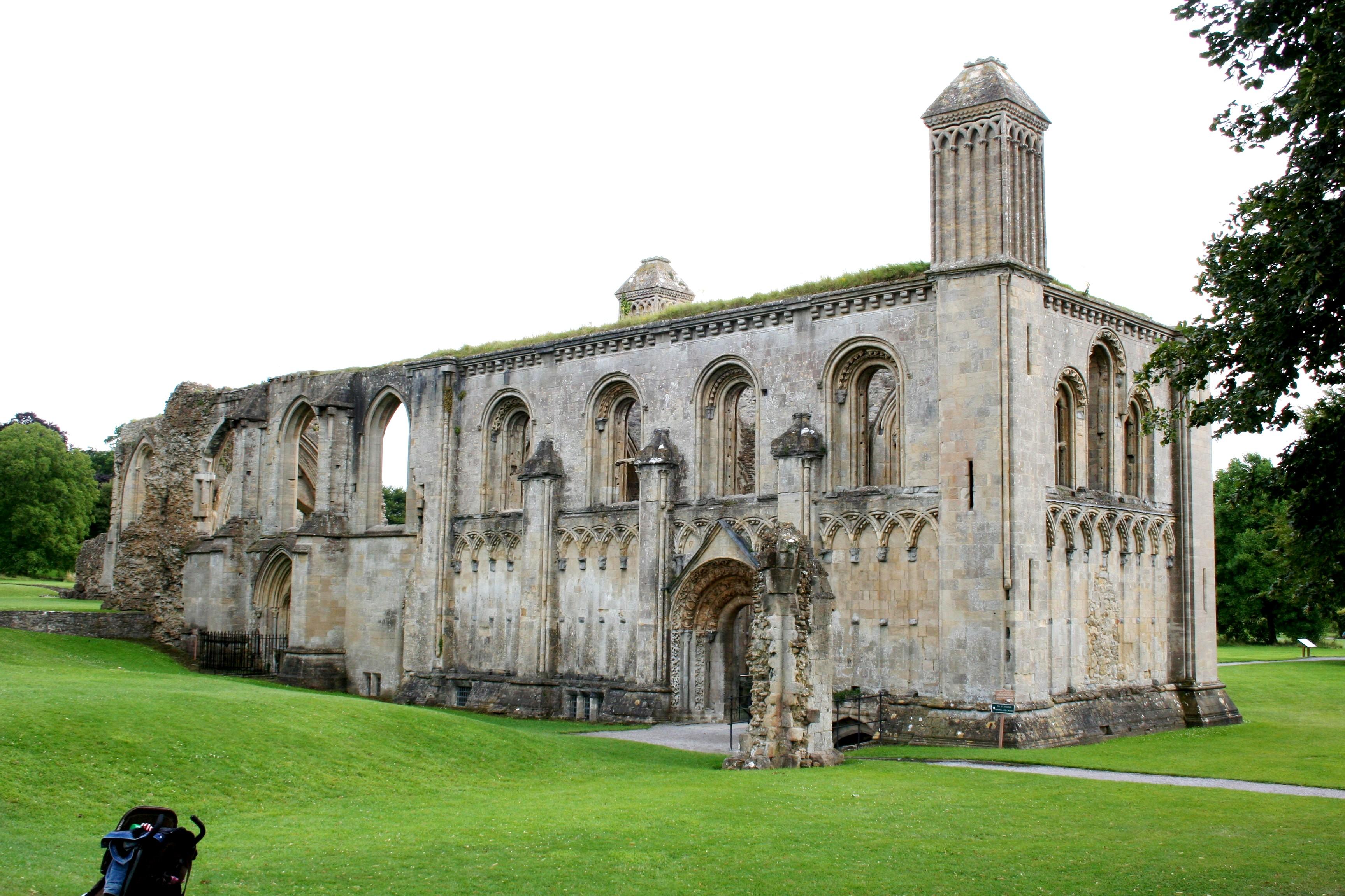 Glastonbury Abbey Ruins