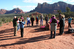 Ceremony at Bell Rock